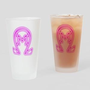 OMEGA MU GLOW Drinking Glass