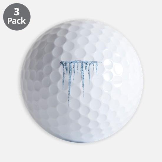 Cold and Hard Rev Golf Ball