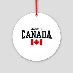 Made in Canada Ornament (Round)