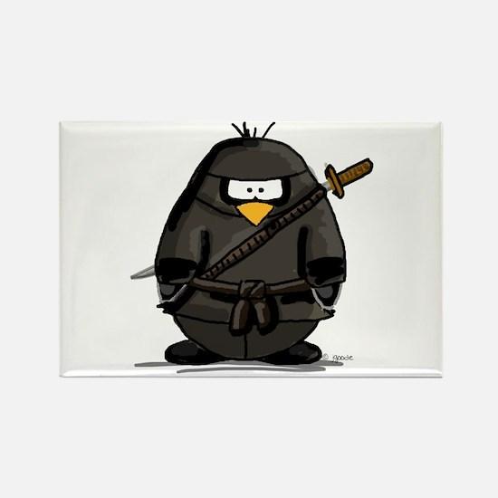 Martial Arts ninja penguin Magnets
