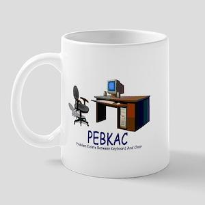 PEBKAC Mug