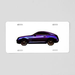 2004 Chrysler Crossfire Aluminum License Plate