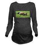 Cover Long Sleeve Maternity T-Shirt