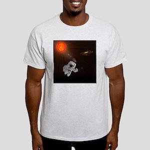 Astronaut And Sun Light T-Shirt
