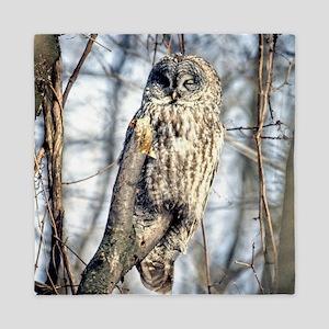 Great Gray Owl Queen Duvet
