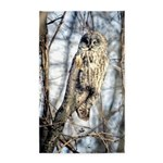 Great Gray Owl 3'x5' Area Rug