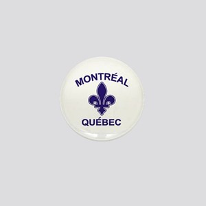 Montreal Quebec Mini Button