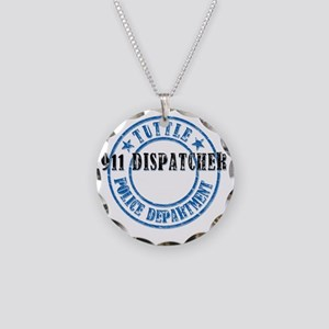 TuttlePD911 Necklace Circle Charm