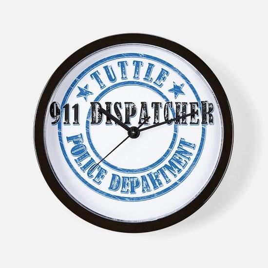TuttlePD911 Wall Clock