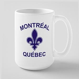 Montreal Quebec Large Mug