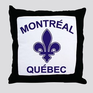 Montreal Quebec Throw Pillow