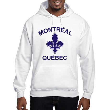 Montreal Quebec Hooded Sweatshirt