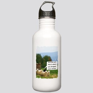 Drop Stitch Sheep Water Bottle