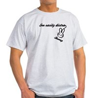 I'm Easily Distra...Bunny! Light T-Shirt