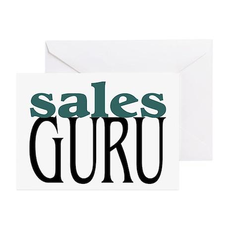 Sales Guru Greeting Cards (Pk of 10)