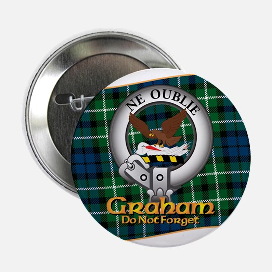 "Graham Clan 2.25"" Button"