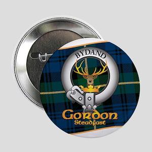 "Gordon Clan 2.25"" Button"