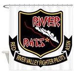 River Rats Shower Curtain