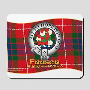 Fraser Clan Mousepad