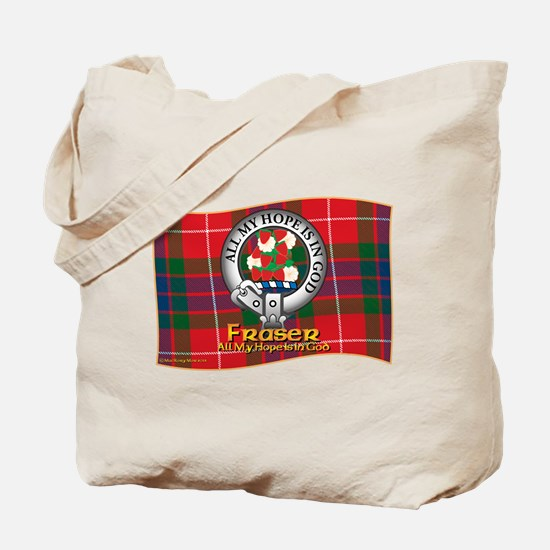 Fraser Clan Tote Bag