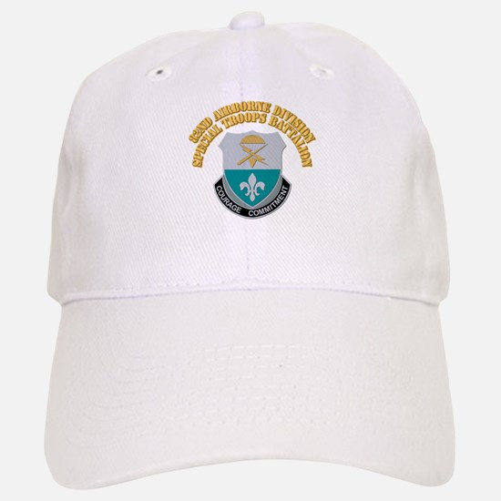 DUI - 82nd Airborne Division - STB With Text Baseball Baseball Cap
