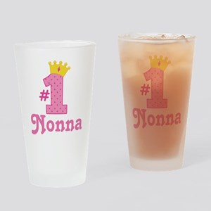 Nonna (Number One) Drinking Glass