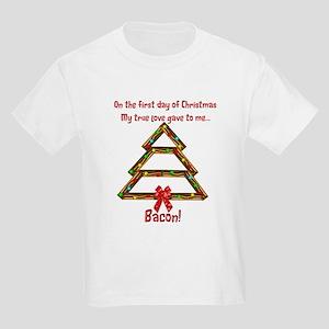 First Day Bacon Kids Light T-Shirt