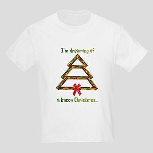 Dream Of Bacon Kids Light T-Shirt