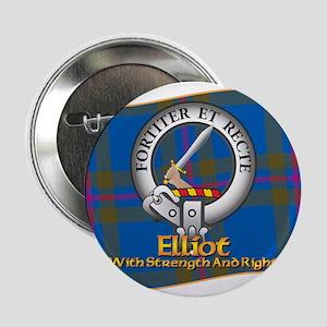 """Elliott Clan 2.25"""" Button"""