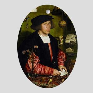 Hans Holbein - Georg Gisze Ornament (Oval)