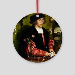 Hans Holbein - Georg Gisze Ornament (Round)