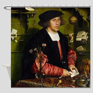 Hans Holbein - Georg Gisze Shower Curtain