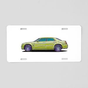 2006 Chrysler 300 Aluminum License Plate