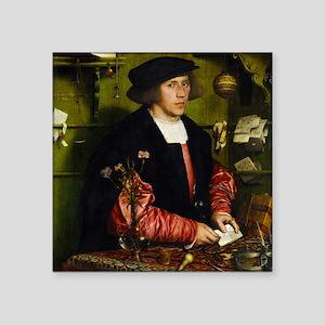 Hans Holbein - Georg Gisze Sticker