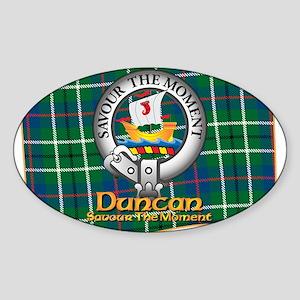 Duncan Clan Sticker