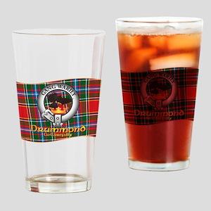 Drummond Clan Drinking Glass