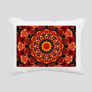Firewalk Abstract Rectangular Canvas Pillow