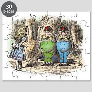 ALICE Through the Looking Glass_ Tweedledum Puzzle
