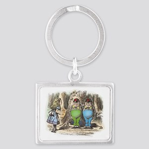 ALICE Through the Looking Glass Landscape Keychain