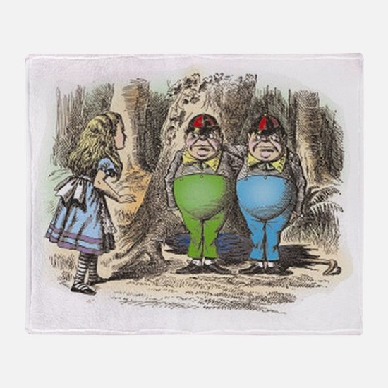 ALICE Through the Looking Glass_ Twe Throw Blanket