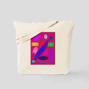 Blue Belt Tote Bag