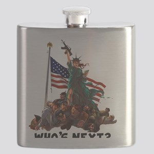 Who's Next 'MURICA Flask