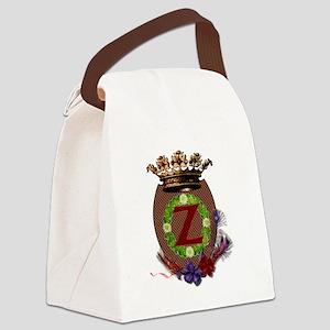Z-Crest Canvas Lunch Bag