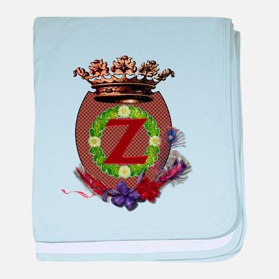 Z-Crest.png baby blanket