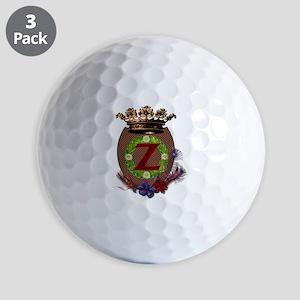 Z-Crest Golf Ball