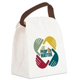 Social work Canvas Lunch Bag