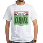 End of Script Ohio White T-Shirt