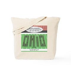 End of Script Ohio Tote Bag