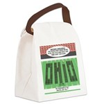 End of Script Ohio Canvas Lunch Bag