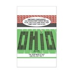 End of Script Ohio Mini Poster Print